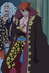 Eustass Cosplay Costume from One Piece