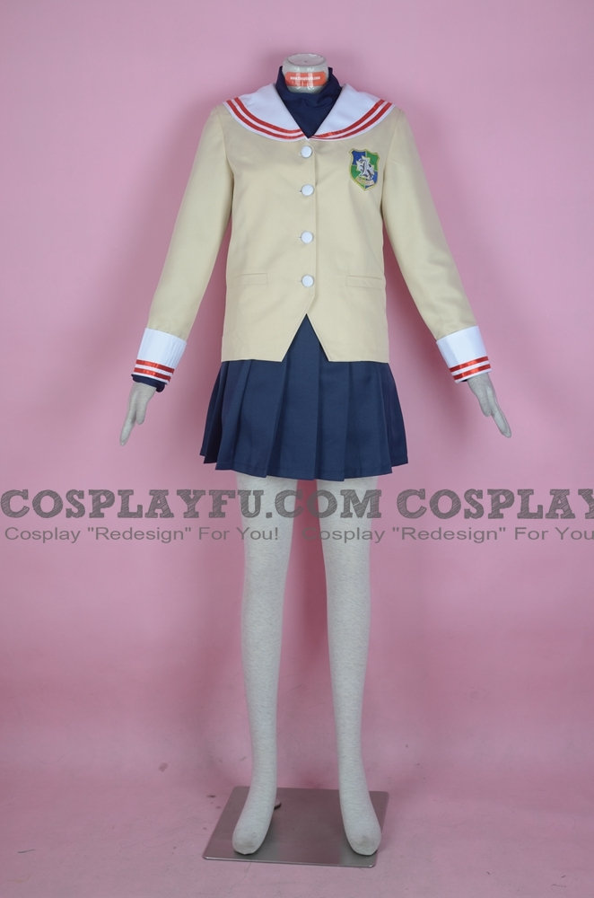 Tomoya Cosplay Costume from Clannad