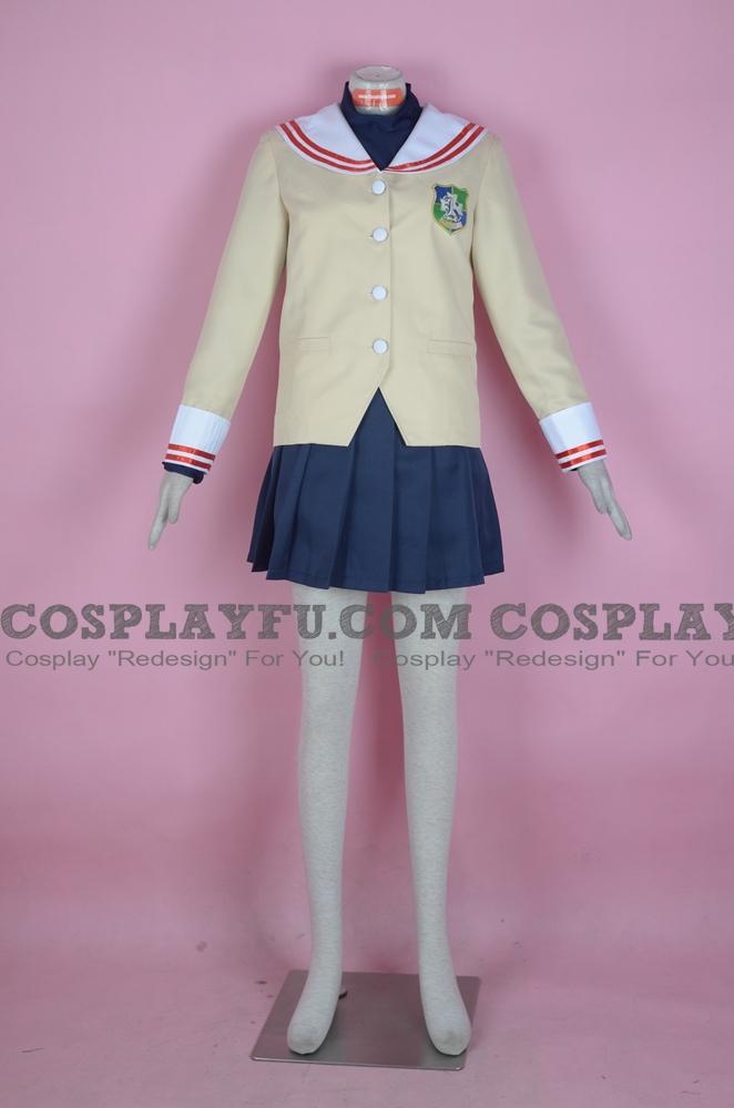 Clannad Tomoyo Sakagami Costume