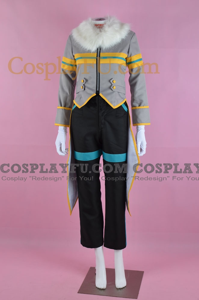 Silver Cosplay Costume from Sonic the Hedgehog