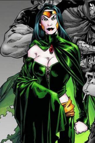 Enchantress Cosplay Costume from DC Comics