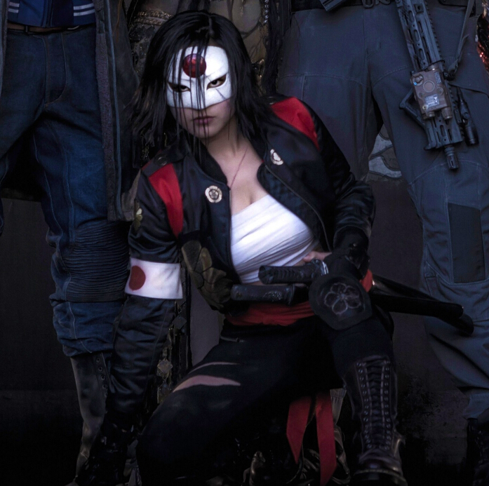 Katana Cosplay Costume from Suicide Squad Film 2016