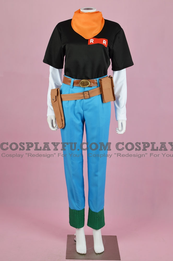 Android 17 Cosplay Costume from Dragon Ball Z