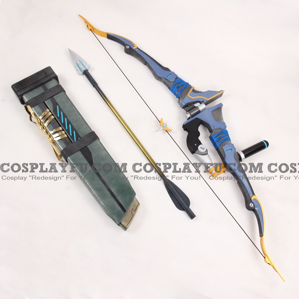 Hanzo Bow and Arrow from Overwatch