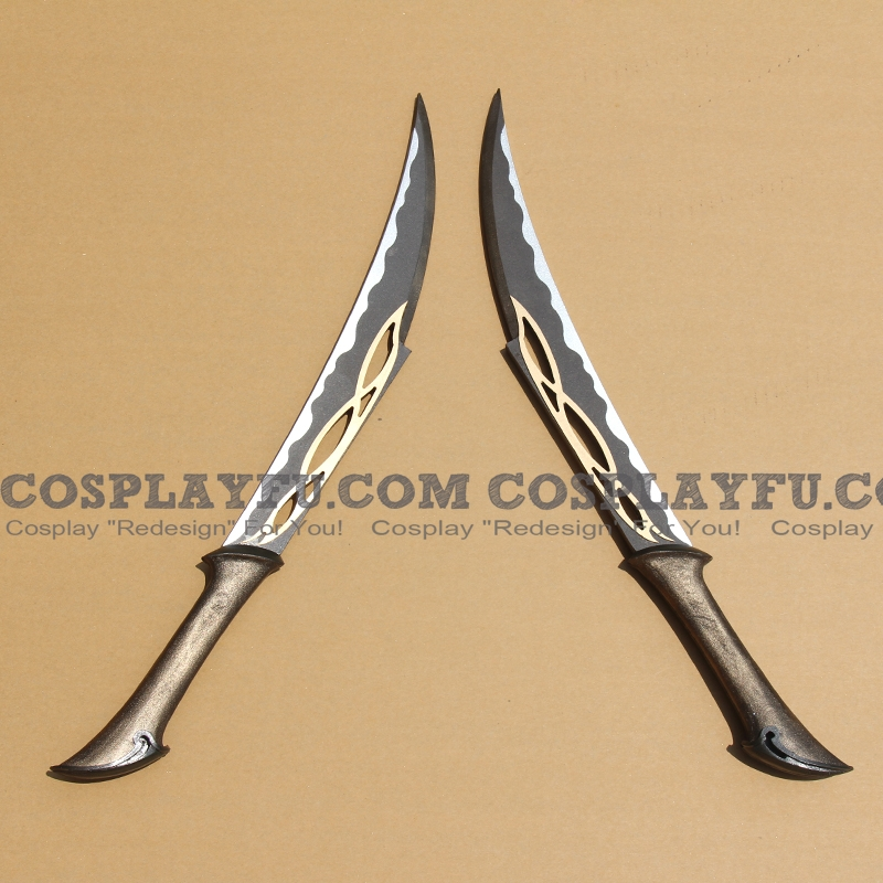 Tauriel Swords from The Hobbit