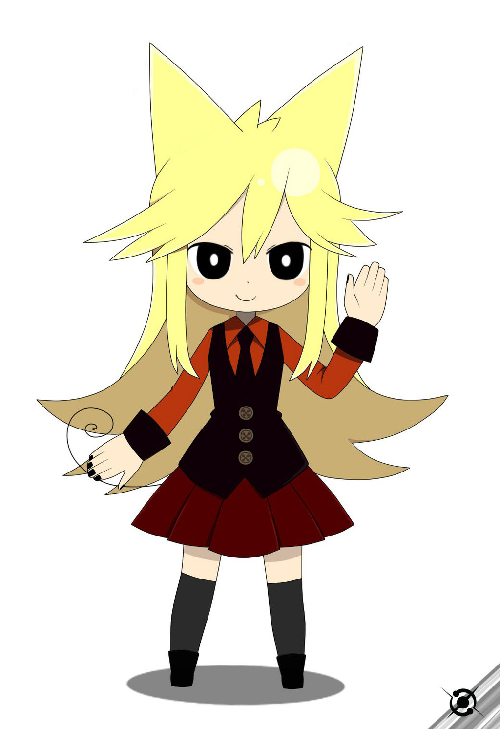 Moge-ko Cosplay Costume from Mogeko Castle