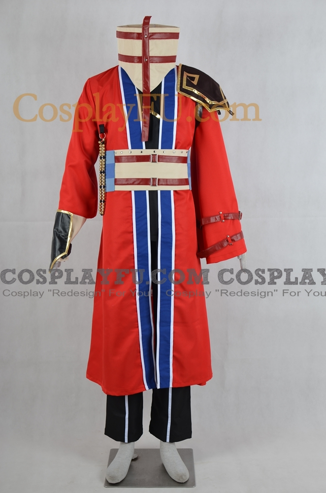 Auron Cosplay Costume from Final Fantasy X