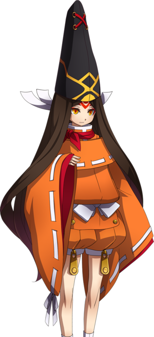 Homura Cosplay Costume from BlazBlue: Chronophantasma