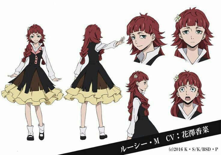 Lucy Cosplay Costume from Bungou Stray Dogs