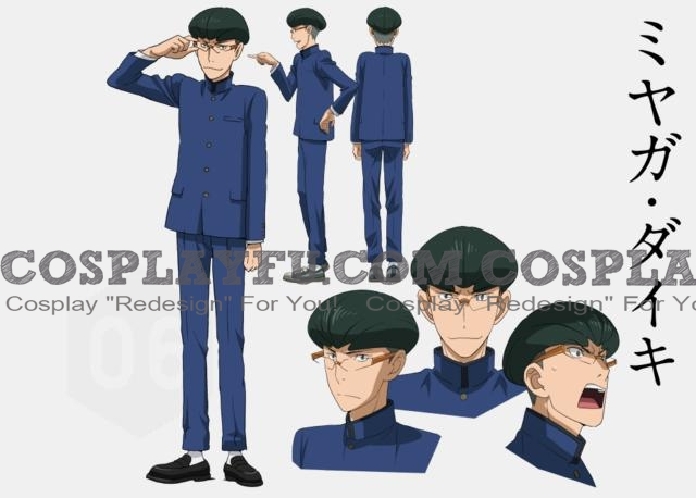 Daiki Cosplay Costume from Gundam Build Fighters Try