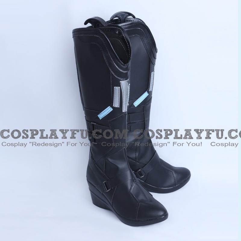 Captain America Natasha Romanoff chaussures