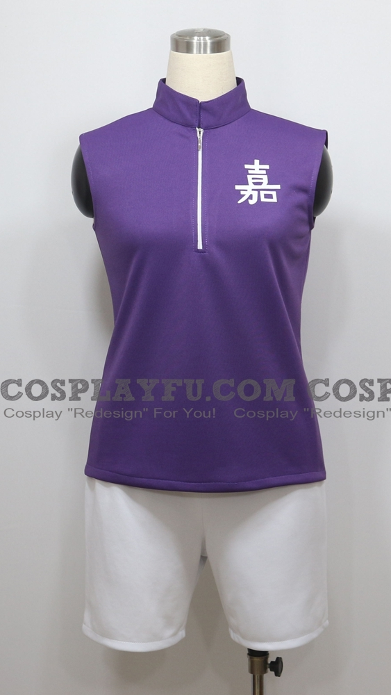 Eishiro Cosplay Costume (Short) from Prince of Tennis