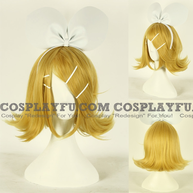 Rin Wig (Gloden) from Vocaloid