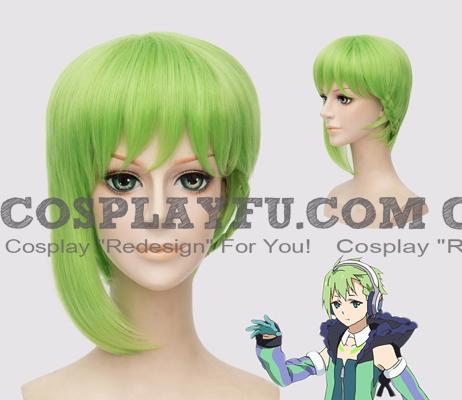 Reina Wig (Green) from Macross Delta