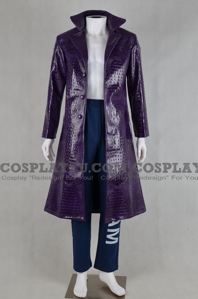 Joker Cosplay Costume from Suicide Squad Film 2016