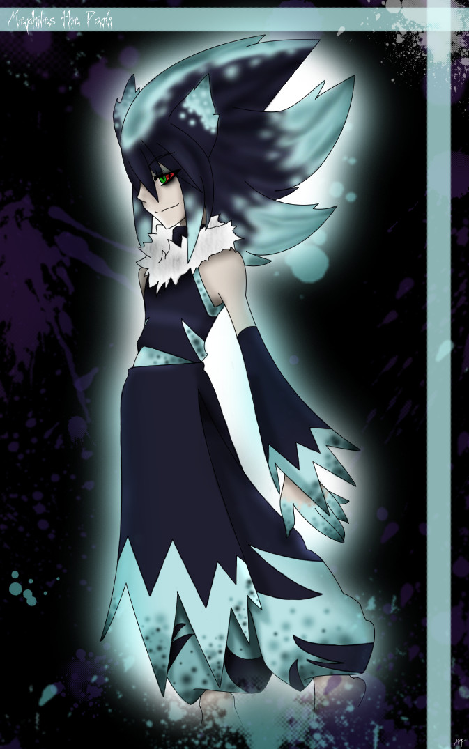 Mephiles Cosplay Costume (Human Version) from Sonic the Hedgehog