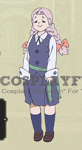 Jasminka Cosplay Costume from Little Witch Academia