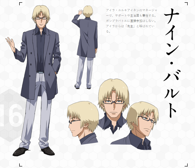 Nine Cosplay Costume from Gundam Build Fighters Try
