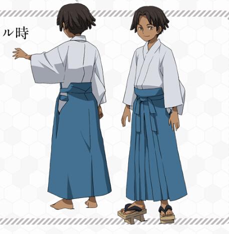 Nils Cosplay Costume (Kimono) from Gundam Build Fighters Try