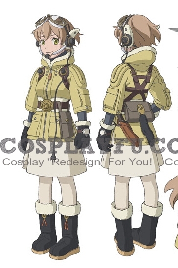 Fam Cosplay Costume from Last Exile