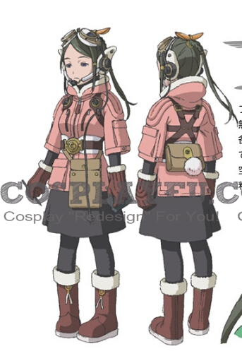 Giselle Cosplay Costume from Last Exile