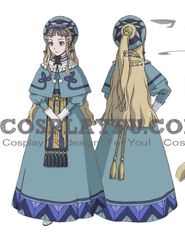 Millia Cosplay Costume from Last Exile