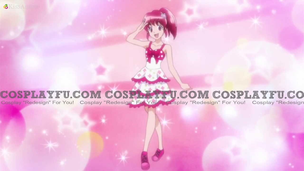 Aino Cosplay Costume from Pretty Cure