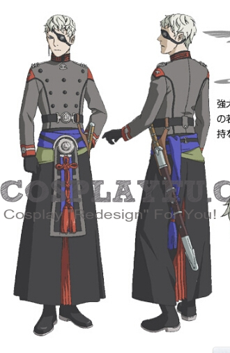Luscinia Cosplay Costume from Last Exile