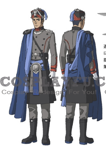 Orang Cosplay Costume from Last Exile