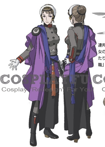 Vasant Cosplay Costume from Last Exile