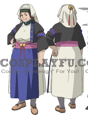 Tereza Cosplay Costume from Last Exile