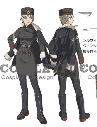 Tatiana Cosplay Costume from Last Exile