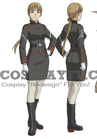 Alister Cosplay Costume from Last Exile