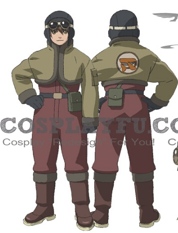 Fritz Cosplay Costume from Last Exile