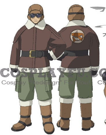 Heine Cosplay Costume from Last Exile
