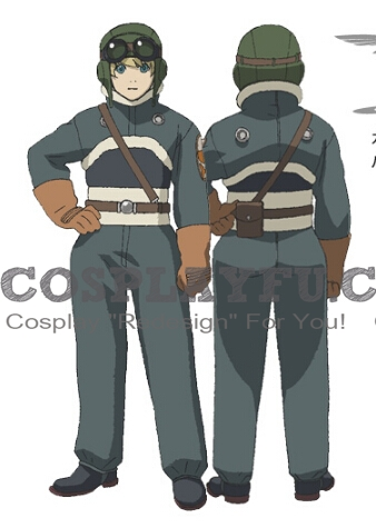 Johann Cosplay Costume from Last Exile
