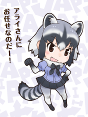 Common Raccoon Cosplay Costume from Kemono Friends