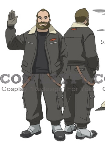 Olaf Cosplay Costume from Last Exile