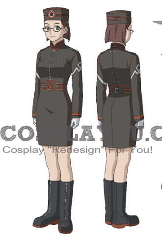 Cecily Cosplay Costume from Last Exile