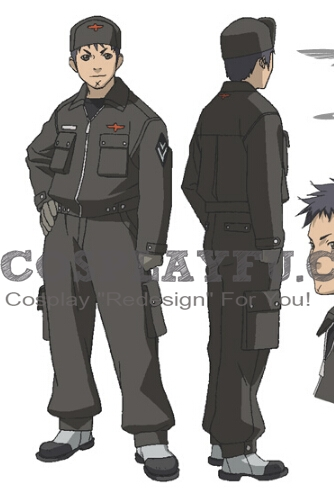Ignace Cosplay Costume from Last Exile