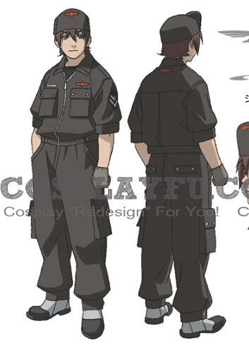 Niccolo Cosplay Costume from Last Exile