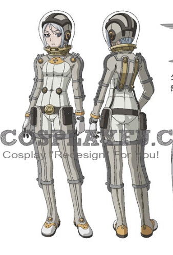 Dyan Cosplay Costume from Last Exile