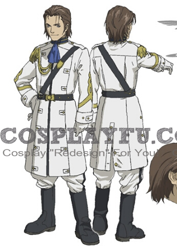 Vincent Cosplay Costume from Last Exile