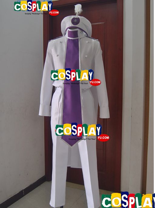 Abe Cosplay Costume from Drifters