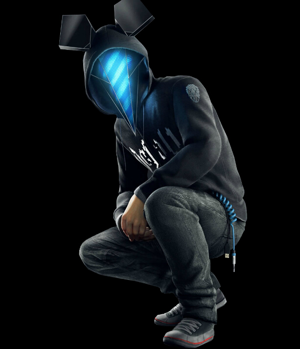 Defalt Cosplay Costume from Watch Dogs