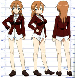 Charlotte Cosplay Costume from Strike Witches