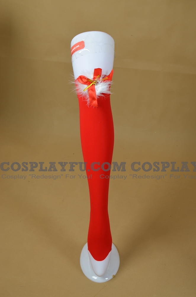Calze Costume (Christmas Red 15)