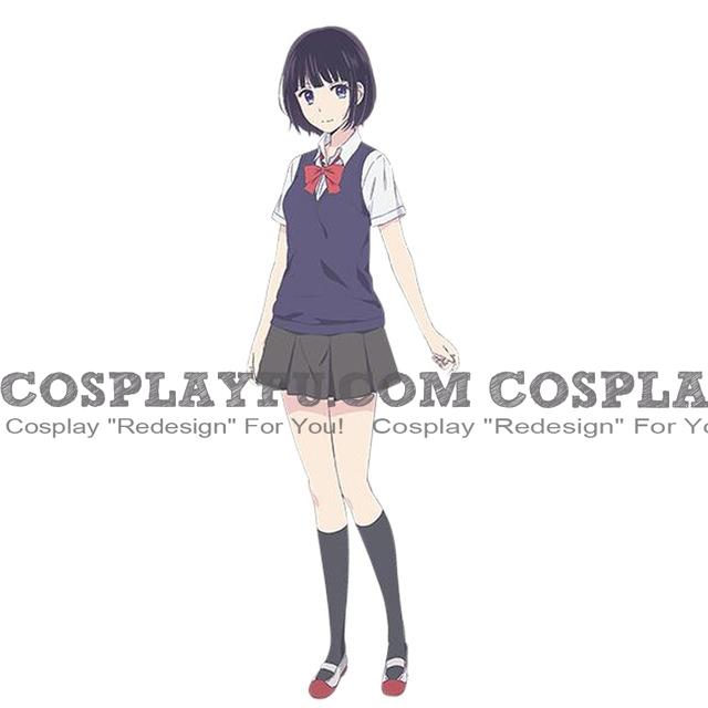 Hanabi Cosplay Costume from Scum's Wish