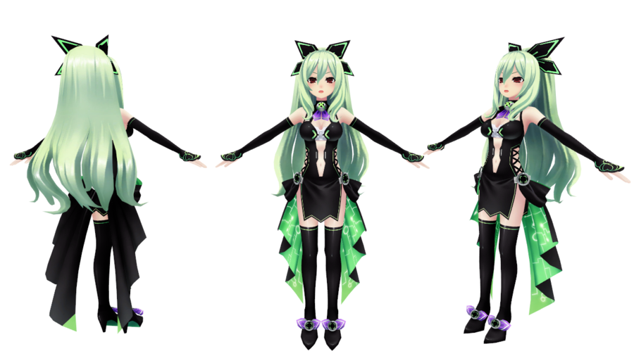 Chika Boots from Hyperdimension Neptunia