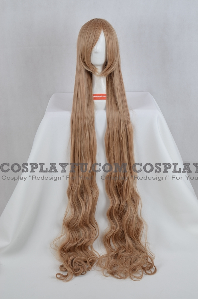 Blond Wig (Long, Curly, Victorica)